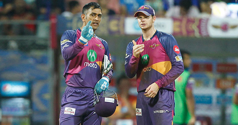 RPS crush KXIP to set up a derby date with Mumbai Indians in Qualifier 1