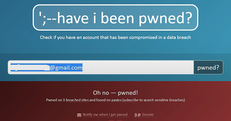 This website lets you check if your password has been leaked