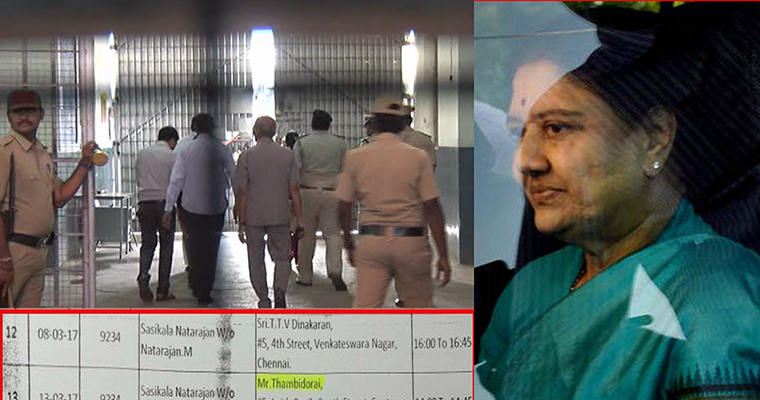 Sasikala paid Rs 2 crore to Bengaluru prison officials for special favours?