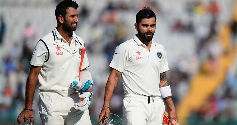Ind vs Aus 3rd Test: Pujara, Saha, Jadeja put Virat Kohli and co. in control