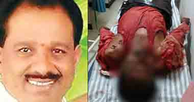 Video: Former corporator hacked to death in the middle of the road