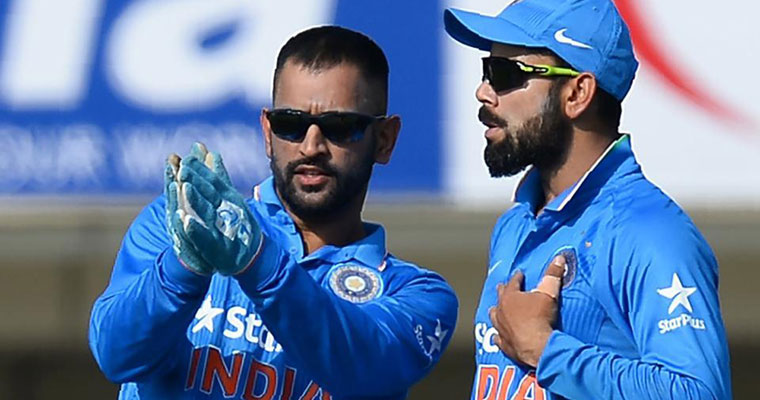 39;Oye Cheeku&#39 Dhoni calls Virat Kohli and other Indian players by their nicknames and it's hilarious