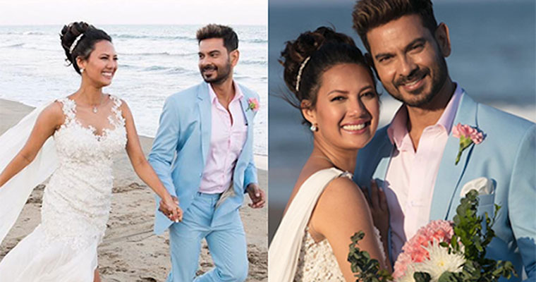 A quiet, white wedding for Rochelle Rao and Keith Sequeira