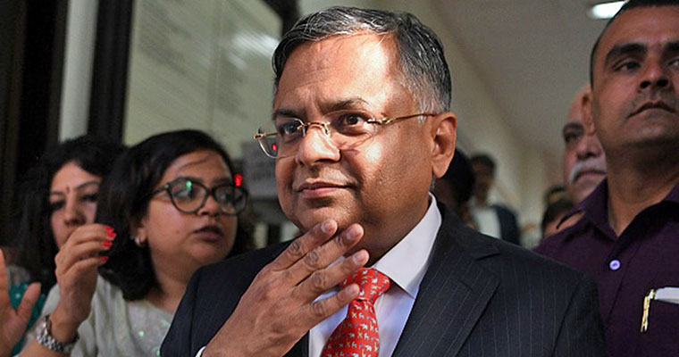 TCS chief N Chandrasekaran named Tata Sons Chairman