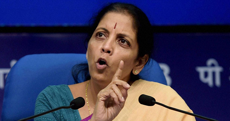 Defence minister Sitharaman meets cyclone Ockhi-hit families in TVM