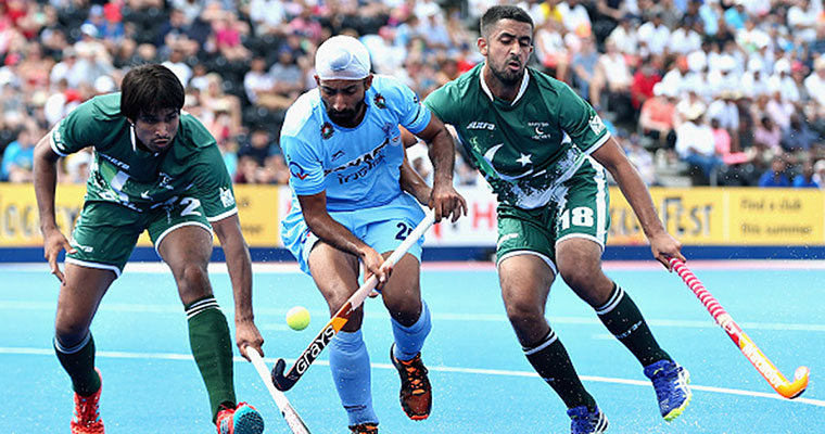 Hockey World League Semi-Final: India beat Pakistan 7-1, wear black armbands to protest Army deaths