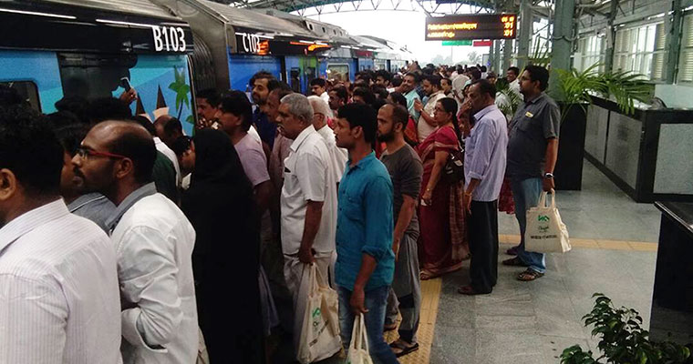 Thousands throng stations as Kochi Metro begins operations [Photos]