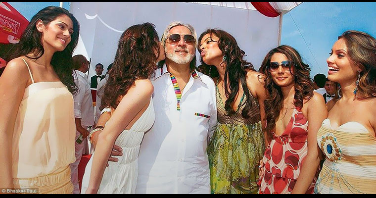 Rise and fall of Vijay Mallya explained in 14 slides