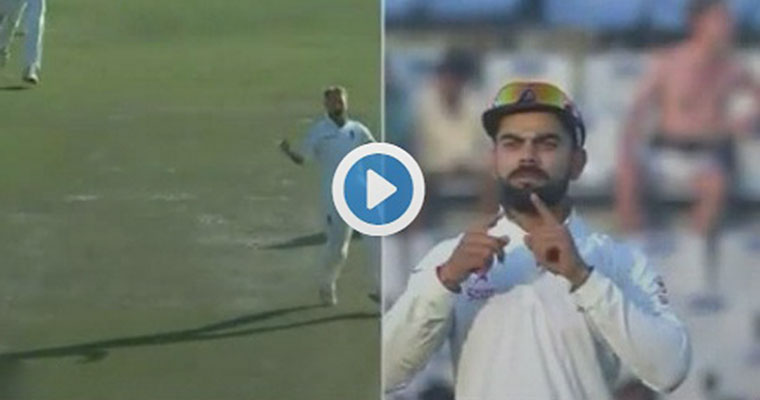 Watch: Kohli gets back at Stokes, shuts him up
