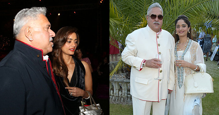 Image result for Meet Pinky Lalwani, Vijay Mallya's soon-to-be wife