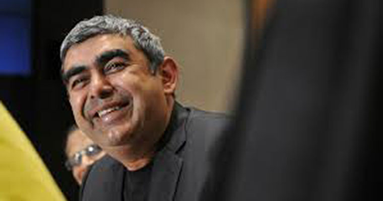 Infosys CEO Vishal Sikka's salary drops: This is what he earned in 2016-17