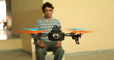 This drone can pick your brain and whizz in the air