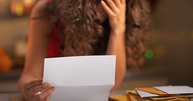 Bizarre: Woman receives official letter informing her that she is dead
