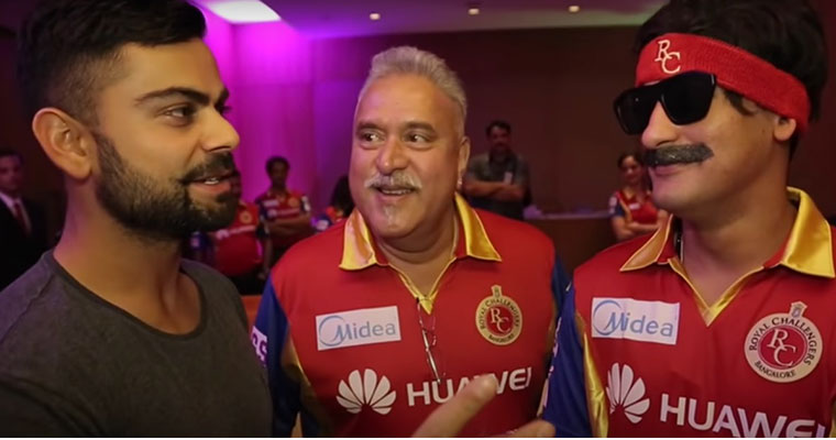 Throwback when Vijay Mallya and RCB players shared 'Good Times' (video)