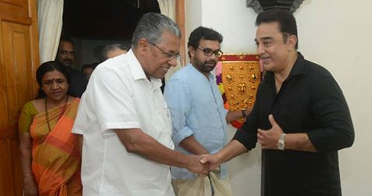 Kamal calls on Pinarayi as political murmurs rise