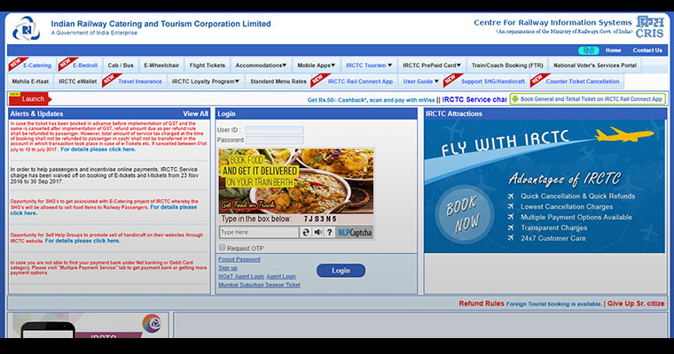 Tatkal railway ticket you can book now and pay later for Book now pay later flights