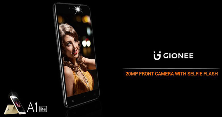 Gionee A1 Lite with 20MP selfie camera launched in India: Specs, price
