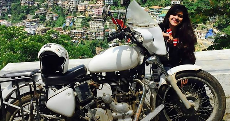 Biker Sana Iqbal dies in a vehicle crash in Hyderabad