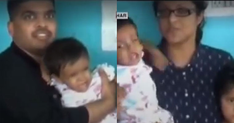 Happy family Video of the day Wesley Sini adopted Sherin Mathews