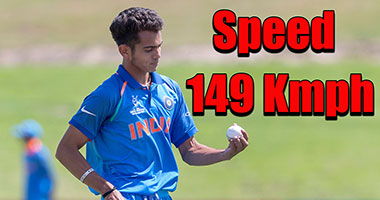 Fast bowler Nagarkoti on a roll at the ICC Under-19 World Cup 2018
