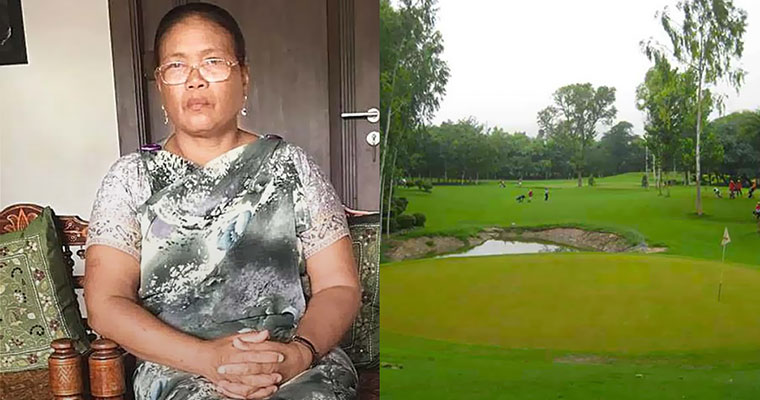 Khasi woman in traditional jainsem attire asked to leave Delhi Golf Club