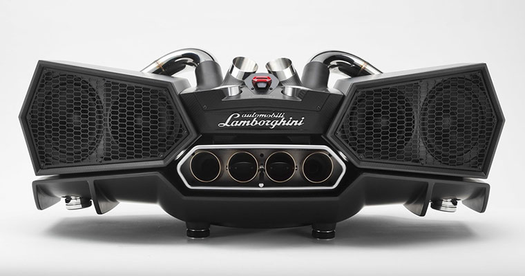 these lamborghini esavox speakers costs twice as much as a car. Black Bedroom Furniture Sets. Home Design Ideas