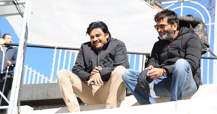 Pawan Kalyan's 25th Movie Title as 'Agnatha Vaasi': First Look out