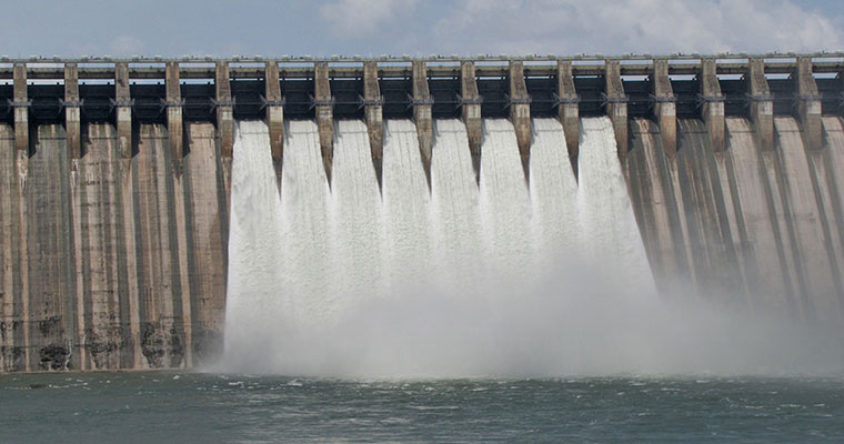 Telangana, Andhra fight over amount of water released from Nagarjuna Sagar