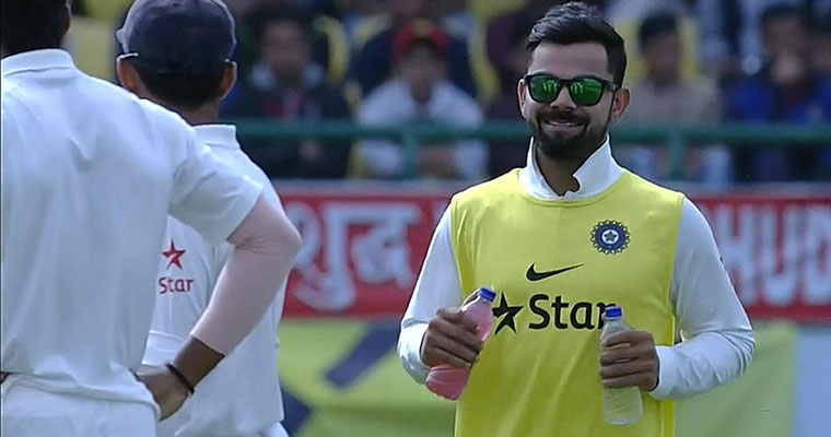 Did you know? Kohli not the first superstar to carry drinks on field