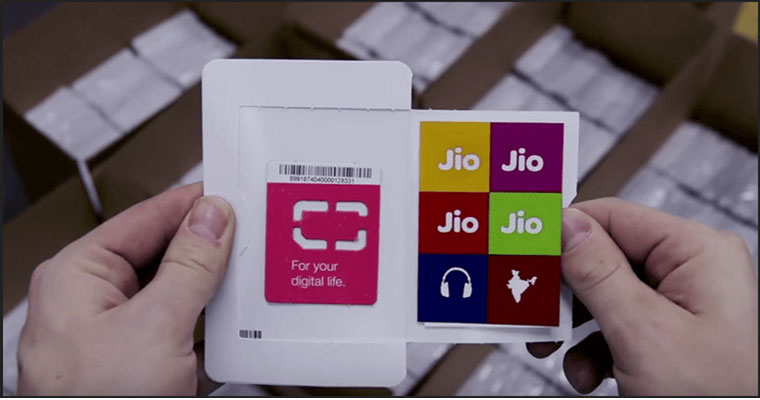 Snapdeal allows to order Reliance Jio Sim card Online