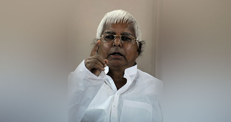 Verdict in 3rd fodder scam case against Lalu Prasad expected this month
