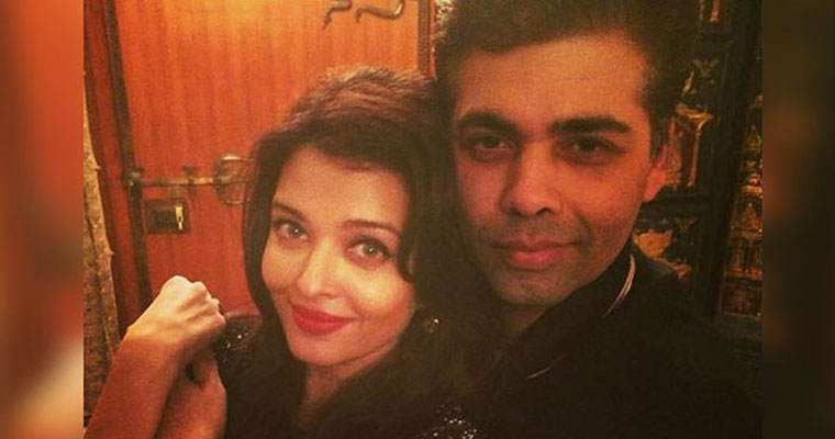 Is Aishwarya Rai upset with Karan Johar now?