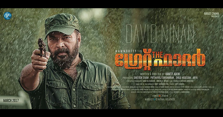 Does 65-year-old Mammootty use a stunt double?