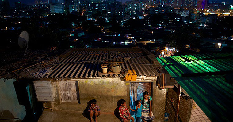India builds cities, but poor have no homes in them