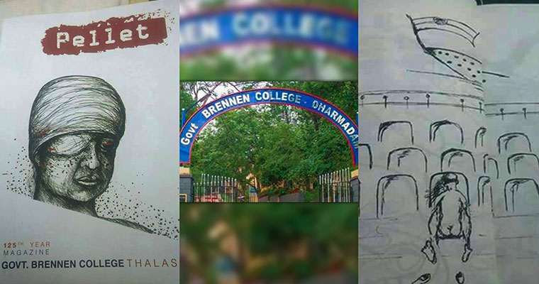Kannur Brennan College magazine reignites national anthem row