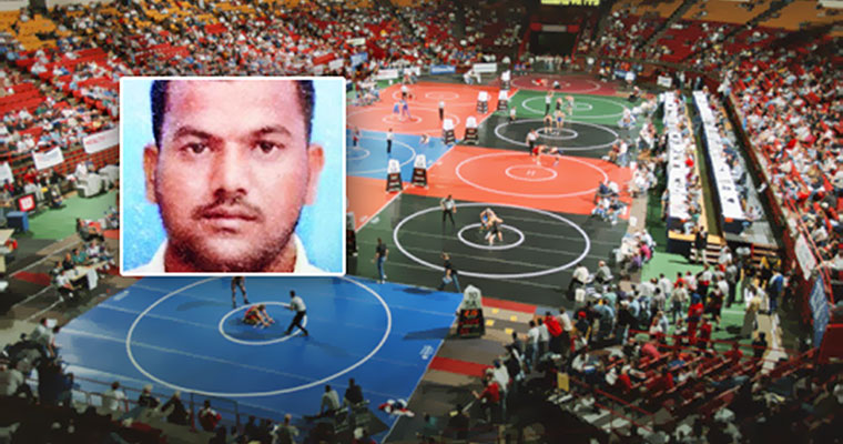 National-level wrestler electrocuted by a loose wire in flooded stadium, dies