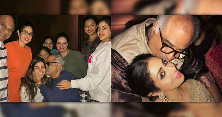 Photos: This is how Sridevi celebrated her husband's birthday bash
