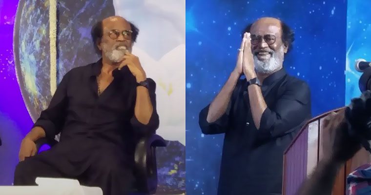 'What I will do tomorrow, god will decide': Superstar Rajni meets fans after 8 years [Pictures]