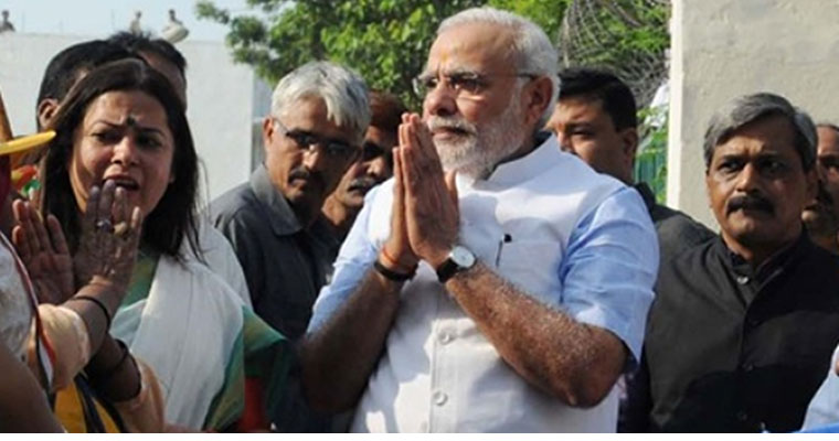 Modi for you: Moments when he touched the heart