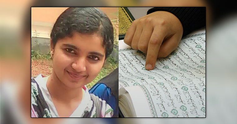 Week after she left to study Islam, Hindu girl still missing