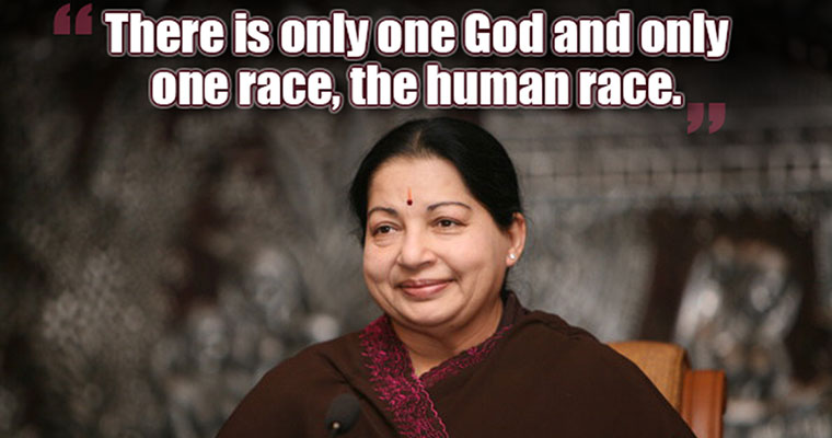 15 most powerful quotes by Puratchi Thalaivi Jayalalithaa