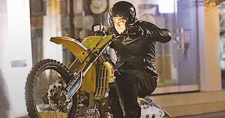 Actor Ajith's Vivegam has a stunning bike stunt in it