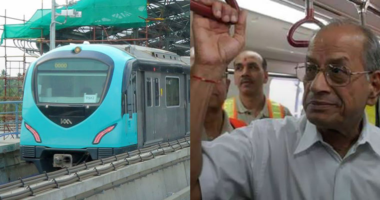 Modi to travel on Kochi Metro, Sreedharan excluded from dais