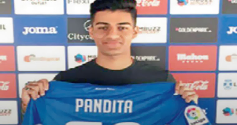 Ishan Pandita Becomes First Indian to Sign for La Liga Club