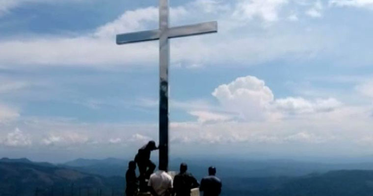 Catholic Bishops' Council likens Munnar cross removal to Babri demolition