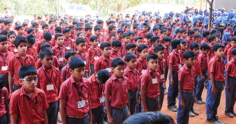 Kerala school has freakish  uniforms rule based on students' academic skills
