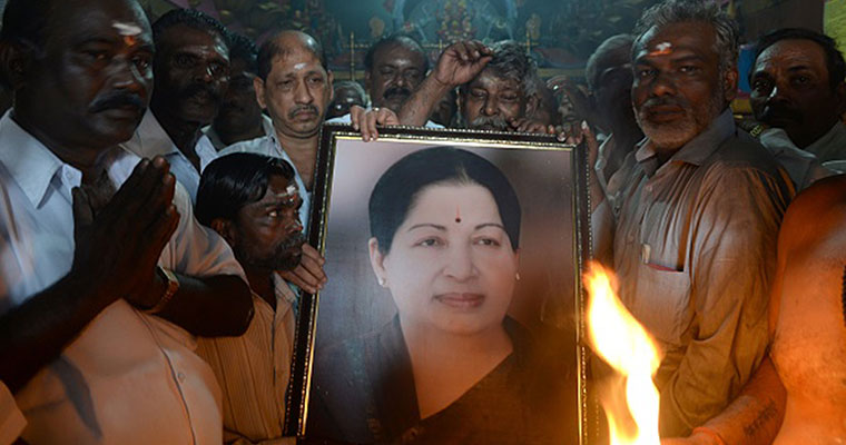 Size bronze statue of Jayalalithaa unveiled on her birthday