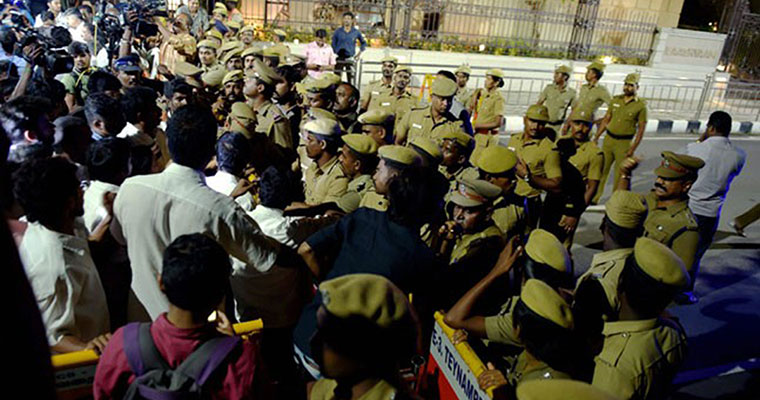 IT department search Jayalalithaa's Poes Garden property