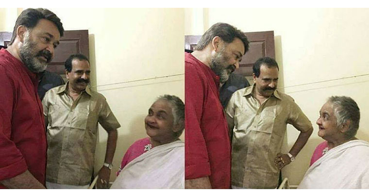 Video: When Mohanlal went to cancer rehabilitation centre