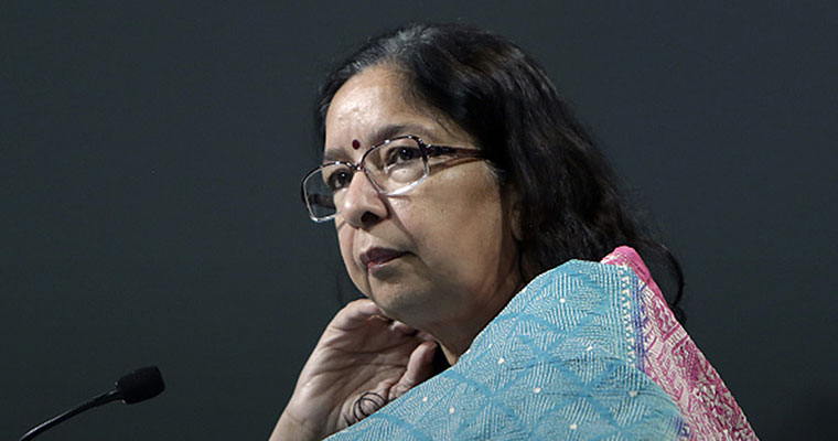 Axis Bank CEO Shikha Sharma schools IIM-A grads in making life's most important choice